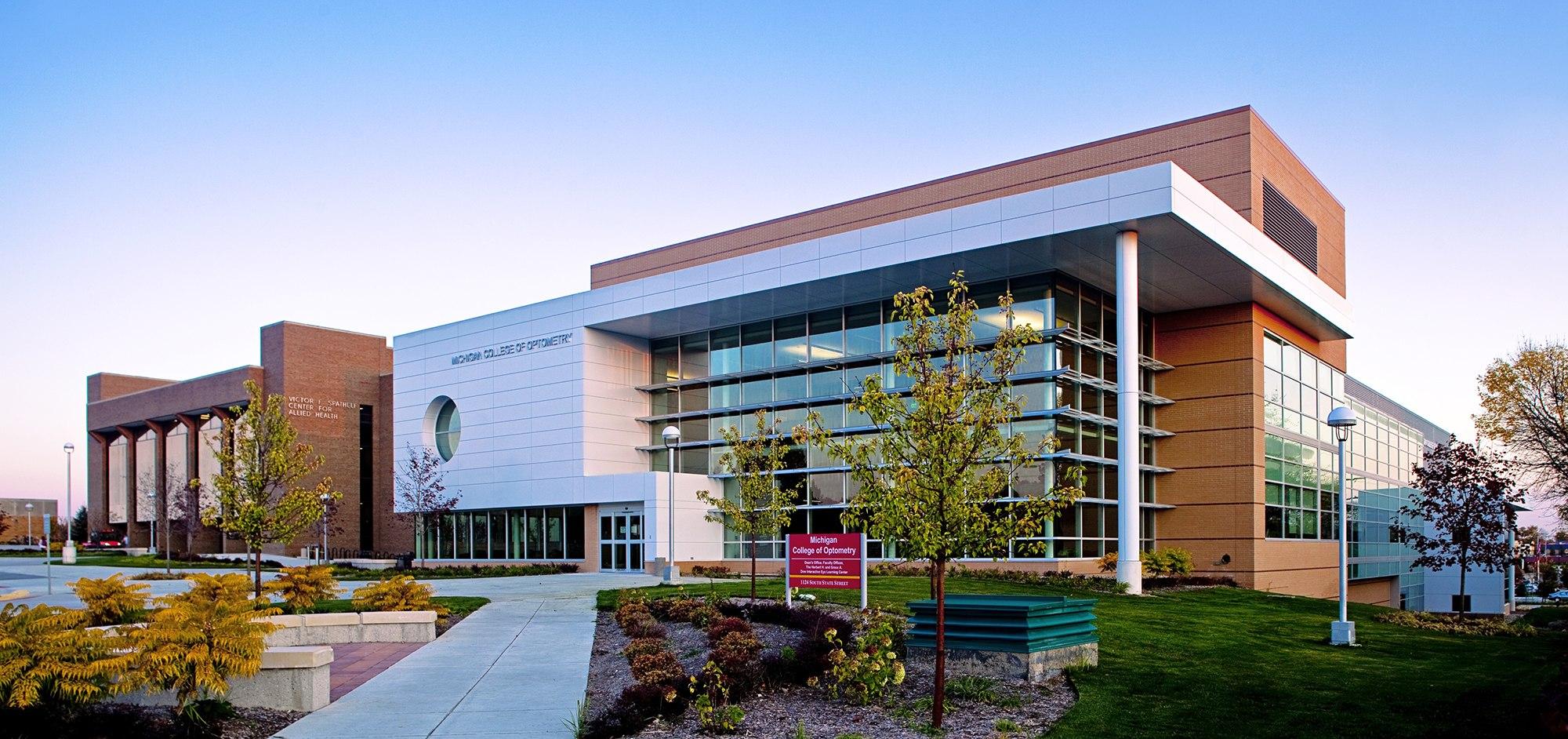 Modern Classroom Description ~ Ferris state university michigan college of optometry