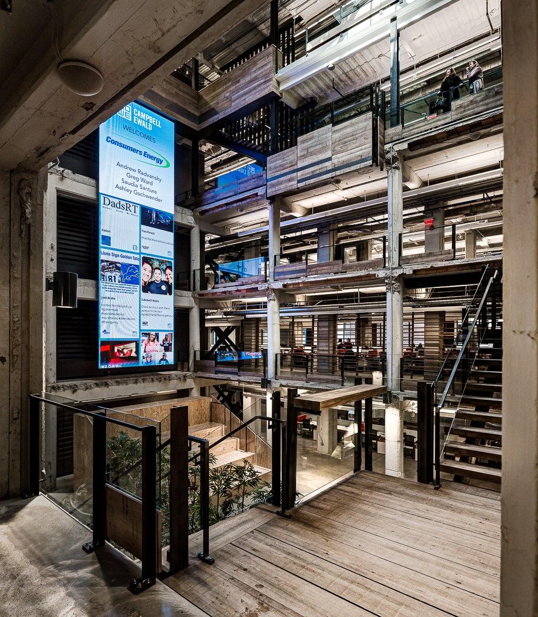 Campbell ewald headquarters neumann smith architecture - Interior furniture warehouse buffalo ny ...