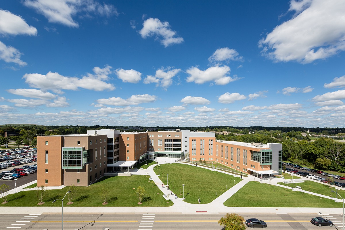 Oakland University Oak View Hall Neumann Smith Architecture