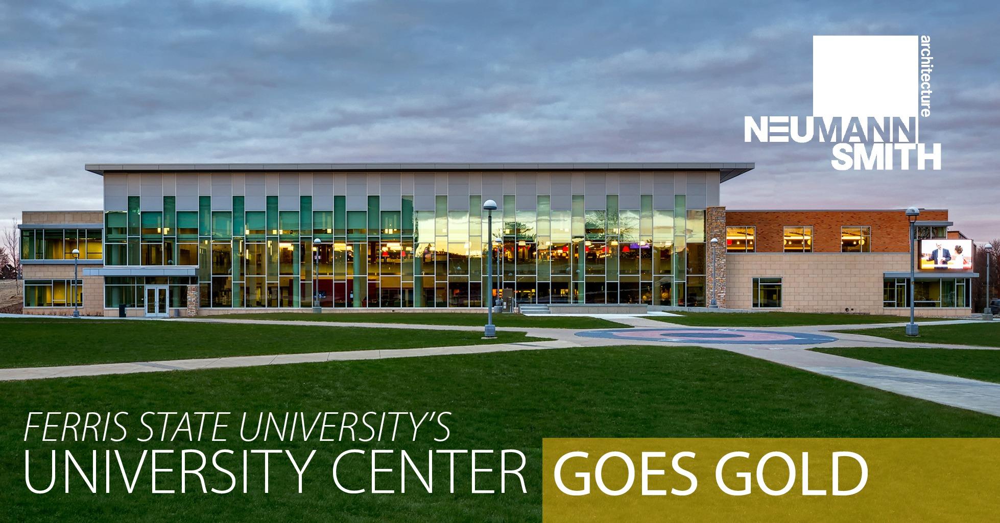 FSU University Center GOES GOLD