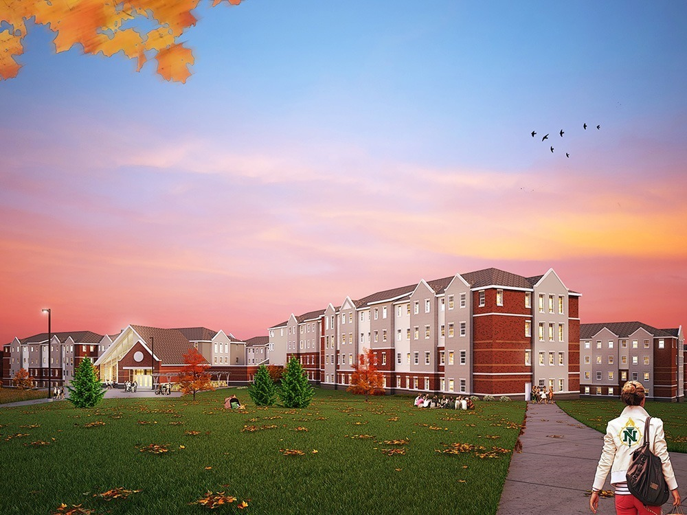 Northern Michigan University Student Housing Neumann