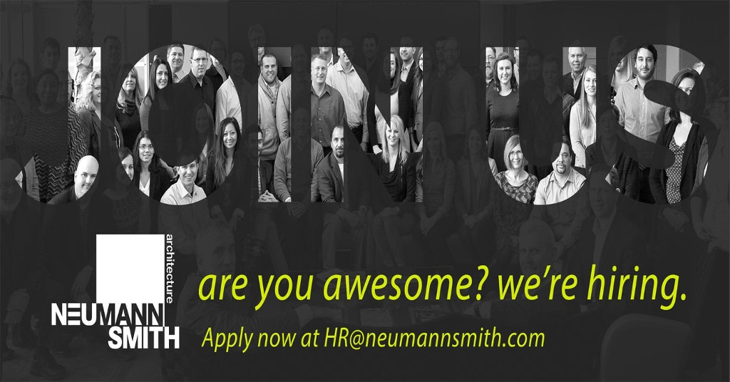 Neumann/Smith is Hiring!