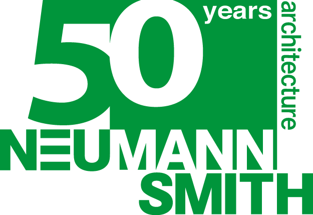 Neumann/Smith Architecture Mobile Retina Logo