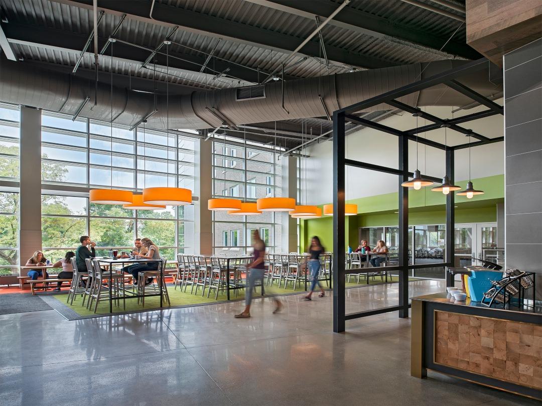 Oakland University Hillcrest Hall Neumann Smith Architecture