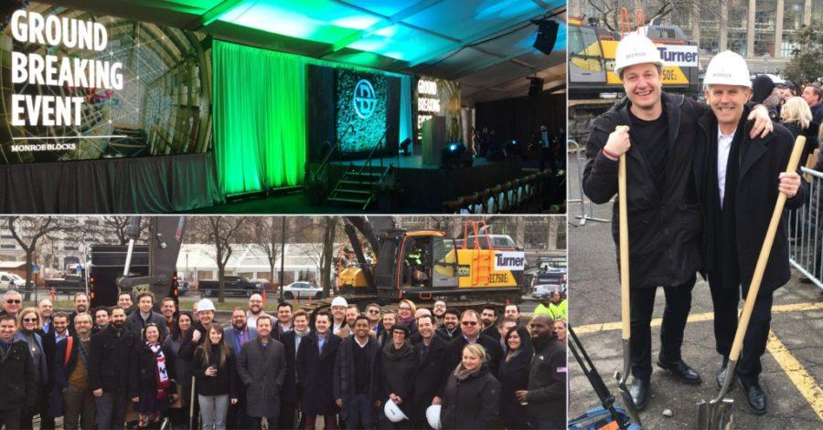 Monroe Blocks Project Breaks Ground in Detroit