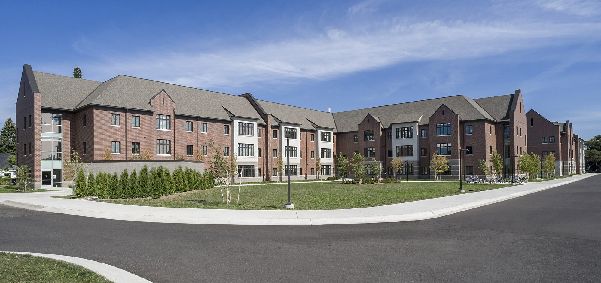 Central Michigan University Graduate Housing