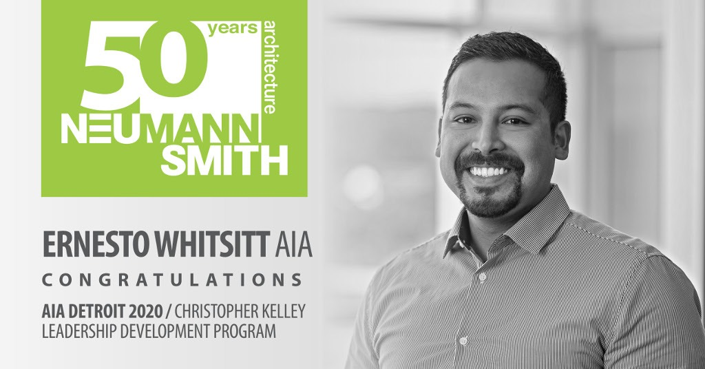 AIA Detroit 2020 Christopher Kelley Leadership Development Program Scholar – Ernesto Whitsitt, AIA