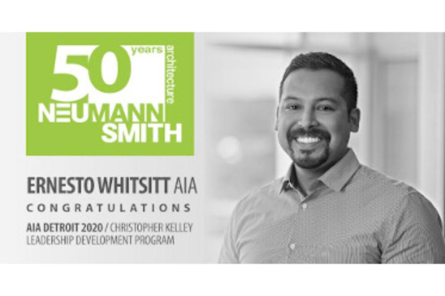 AIA Detroit 2020 Christopher Kelley Leadership Development Program Scholar – Ernesto Whitsitt, AIA