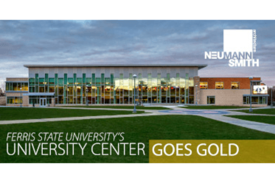 FSU University Center GOES GOLD