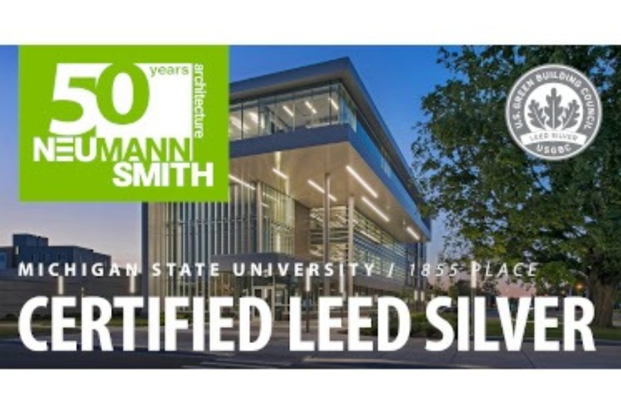 Michigan State University 1855 Place – LEED Silver Announcement