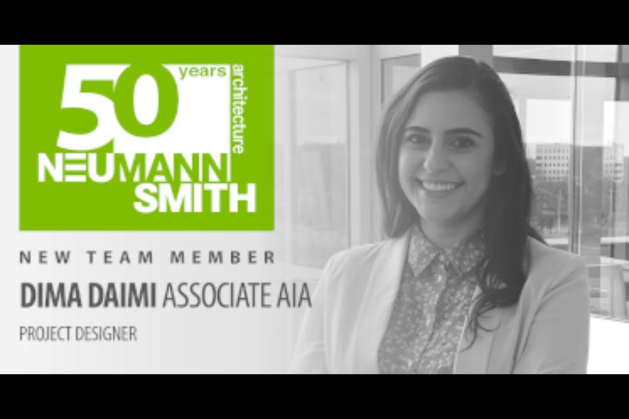 New Hire – Dima Daimi, Associate AIA