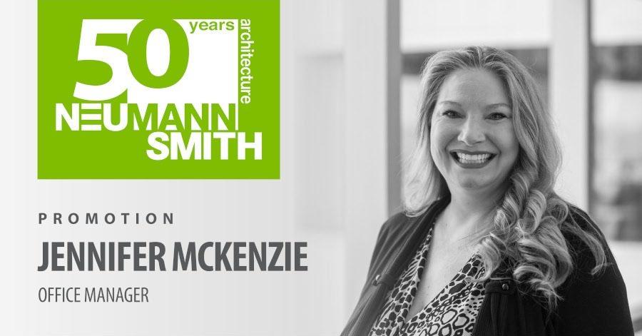 Employee Promotion – Jennifer McKenzie