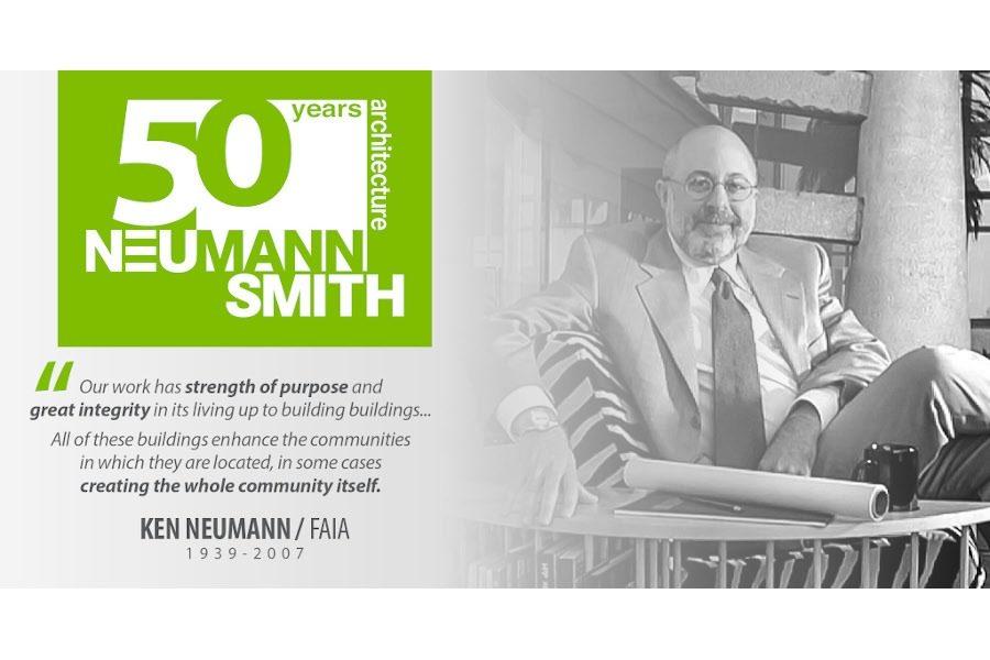 Honoring Ken Neumann of Neumann/Smith Architecture
